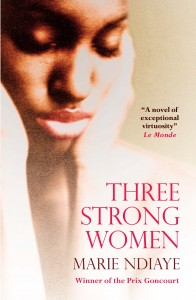 Three Strong Women by Marie NDiaye book cover