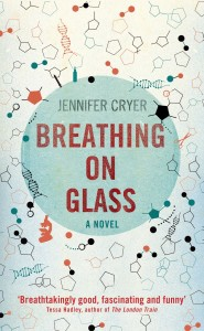 Breathing on Glass by Jennifer Cryer book cover