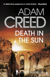 Death in the Sun by Adam Creed book cover