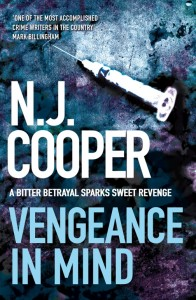 October Crime Round-Up by N. J. Cooper book cover