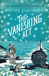 The Vanishing Act by Mette Jakobsen book cover