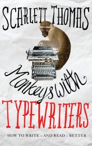 Monkeys With Typewriters by Scarlett Thomas book cover