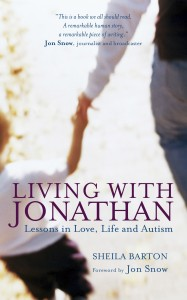 Living With Jonathan by Sheila Barton book cover