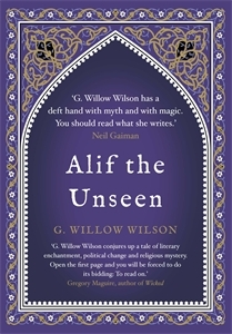 Alif the Unseen by G. Willow Wilson book cover