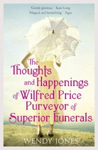 The Thoughts and Happenings of Wilfred Price by Wendy Jones book cover