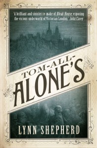 Tom-All-Alone's by Lynn Shepherd book cover