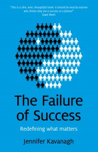 The Failure of Success by Jennifer Kavanagh book cover