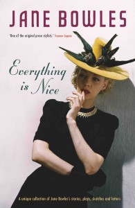 Everything is Nice by Jane Bowles book cover