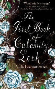The First Book of Calamity Leek by Paula Lichtarowicz book cover
