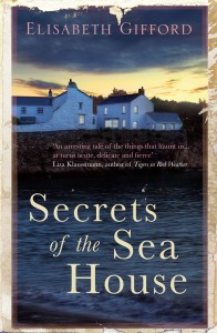 Secrets of The Sea House by Elizabeth Gifford book cover