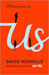 Us by David Nicholls book cover