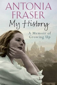 My History by Lady Antonia Fraser book cover