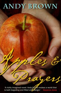 Apples and Prayers by Andy Brown book cover