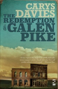 The Redemption of Galen Pike by Carys Davies  book cover