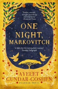 One Night, Markovitch by Ayelet Gundar-Goshen book cover
