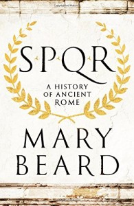 SPQR: A History of Ancient Rome by Mary Beard book cover