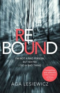 Rebound by Aga Lesiewicz book cover