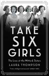Take Six Girls by Laura Thompson book cover