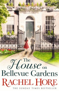 The House on Bellevue Gardens by Rachel Hore book cover