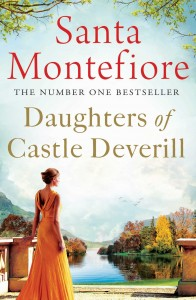 Daughters of Castle Deverill by Santa Montefiore book cover