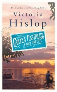 Cartes Postale from Greece by Victoria Hislop book cover