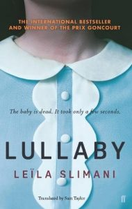 Lullaby by Leïla Slimani book cover