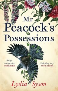 Mr Peacock's Possessions by Lydia Syson book cover