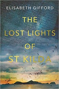 The Lost Lights of St Kilda by Elisabeth Gifford book cover